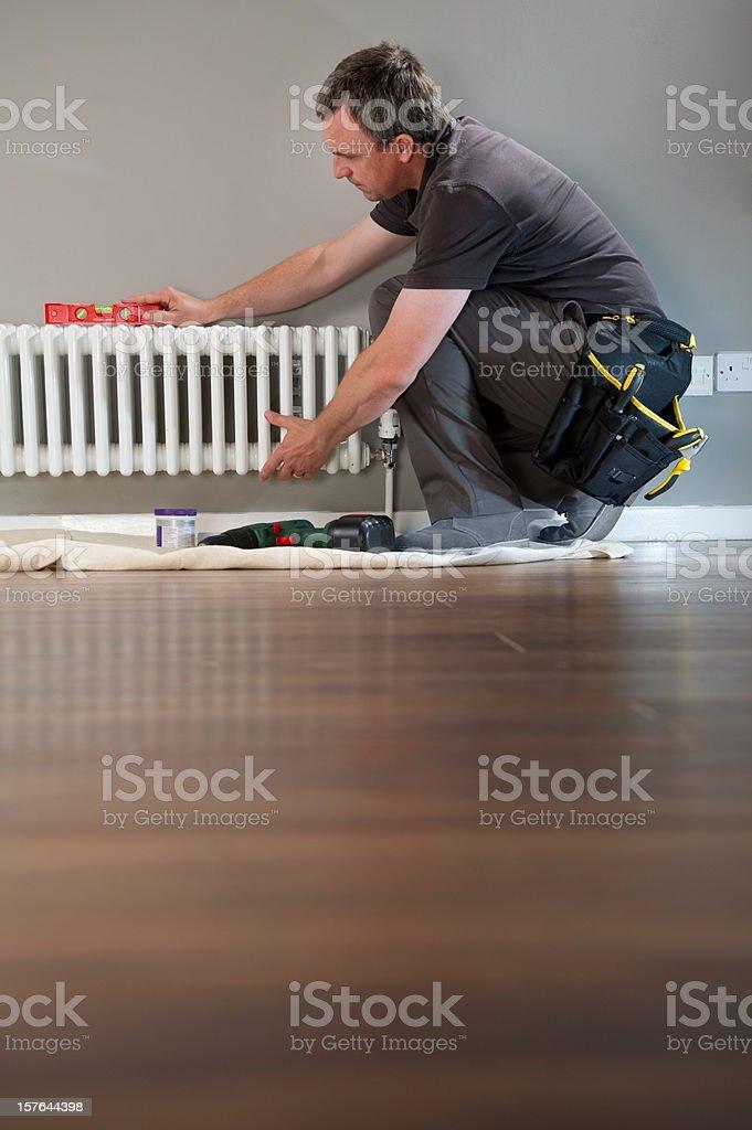 plumber royalty-free stock photo
