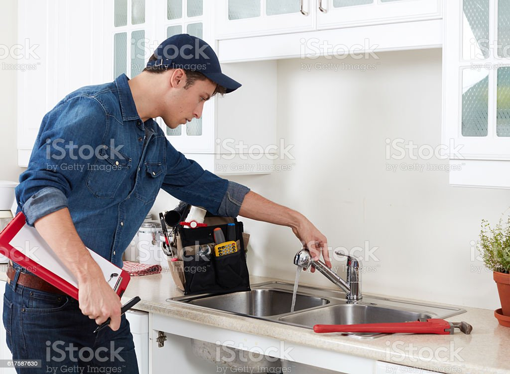 Plumber. royalty-free stock photo