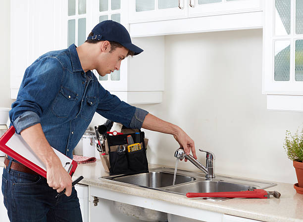 plumber. - repairing stock photos and pictures