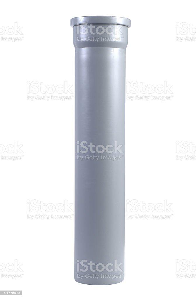 Plumber tube stock photo