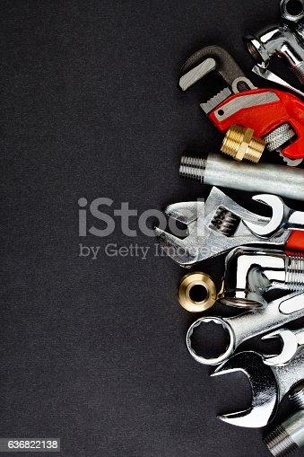 istock Plumbing accessories. 636822138