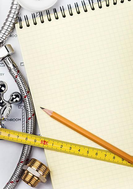 Installation und tools mit einem notebook – Foto