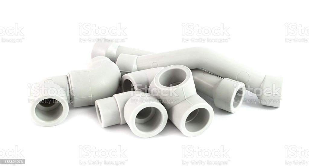 Plumbing equipment stock photo
