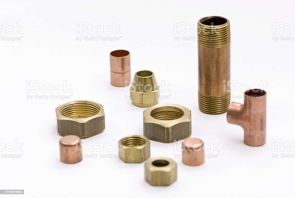 Plumbing Hardware royalty-free stock photo
