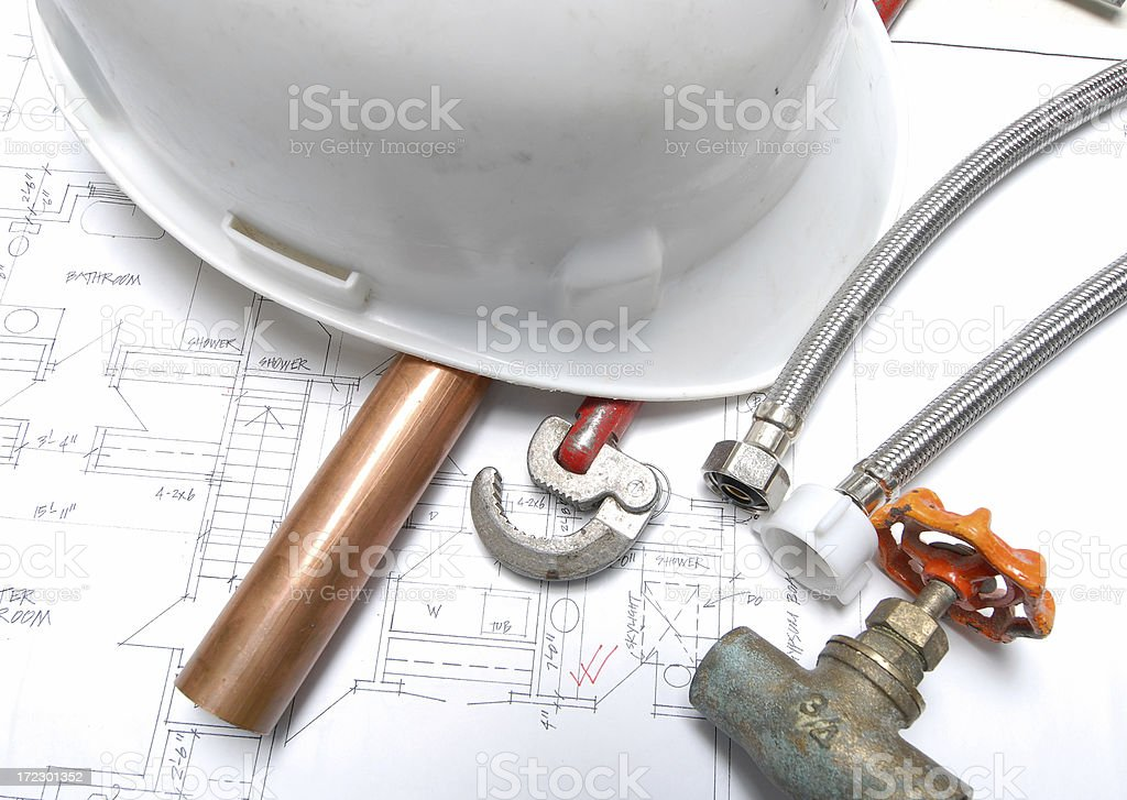 plumbing royalty-free stock photo