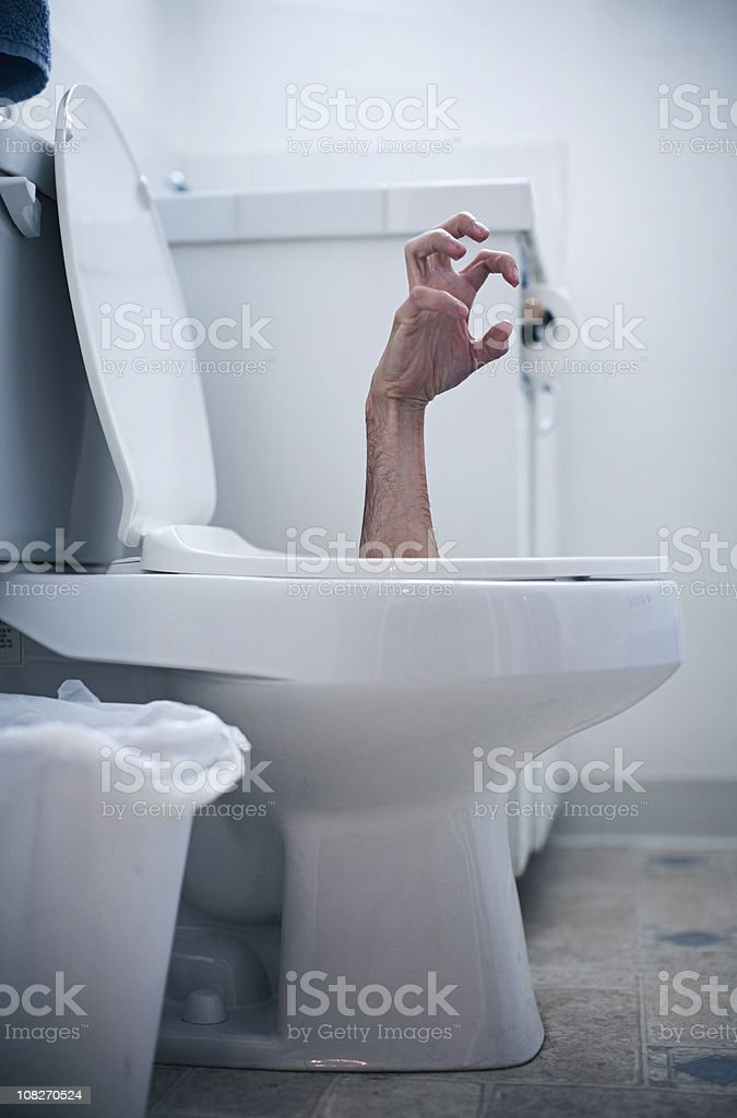 Plumbing Problem royalty-free stock photo