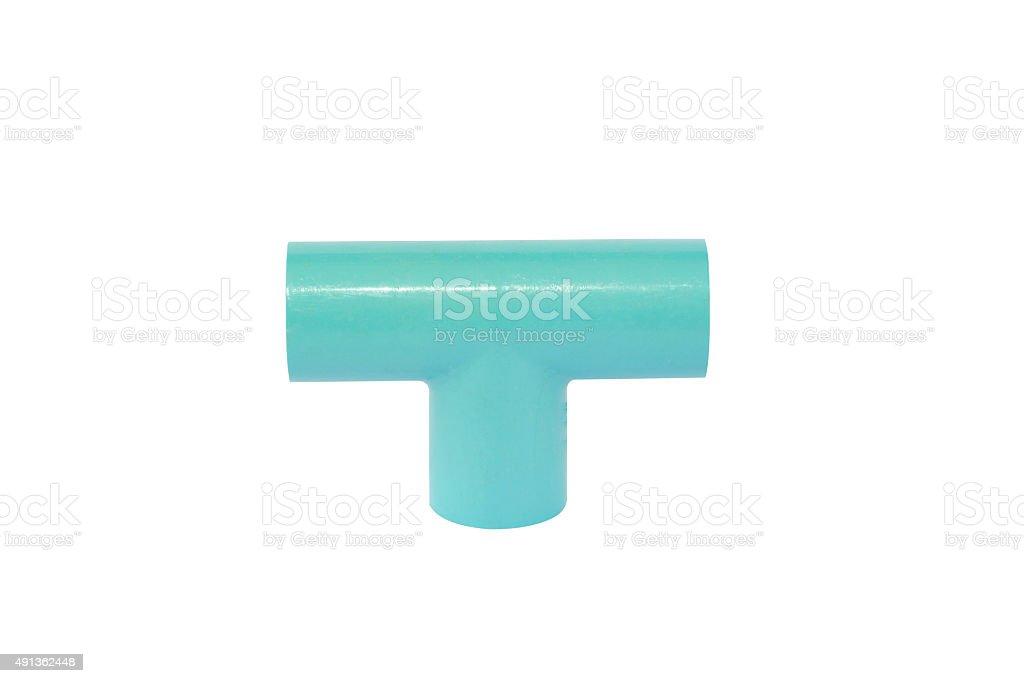 Plumbing three channels stock photo