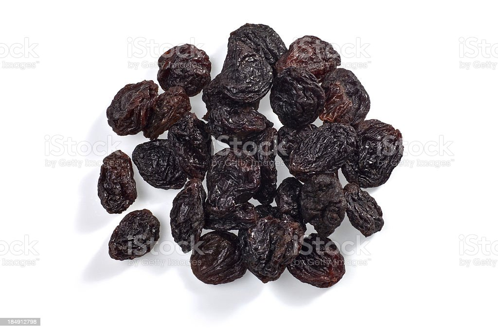 Plump Raisins stock photo
