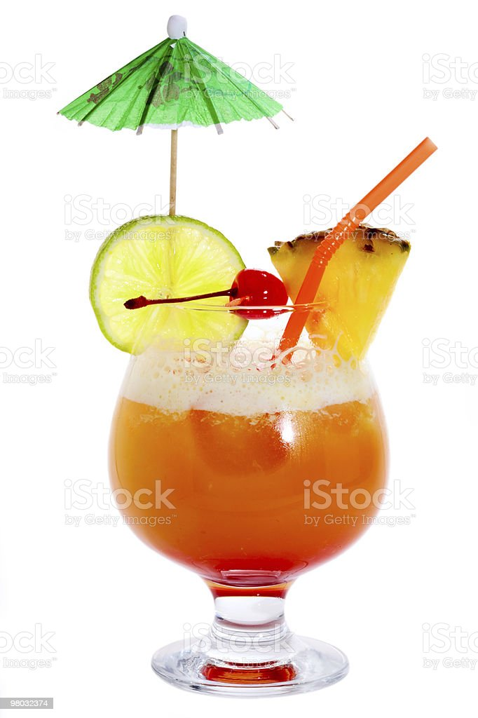 Plunter's Punch royalty-free stock photo