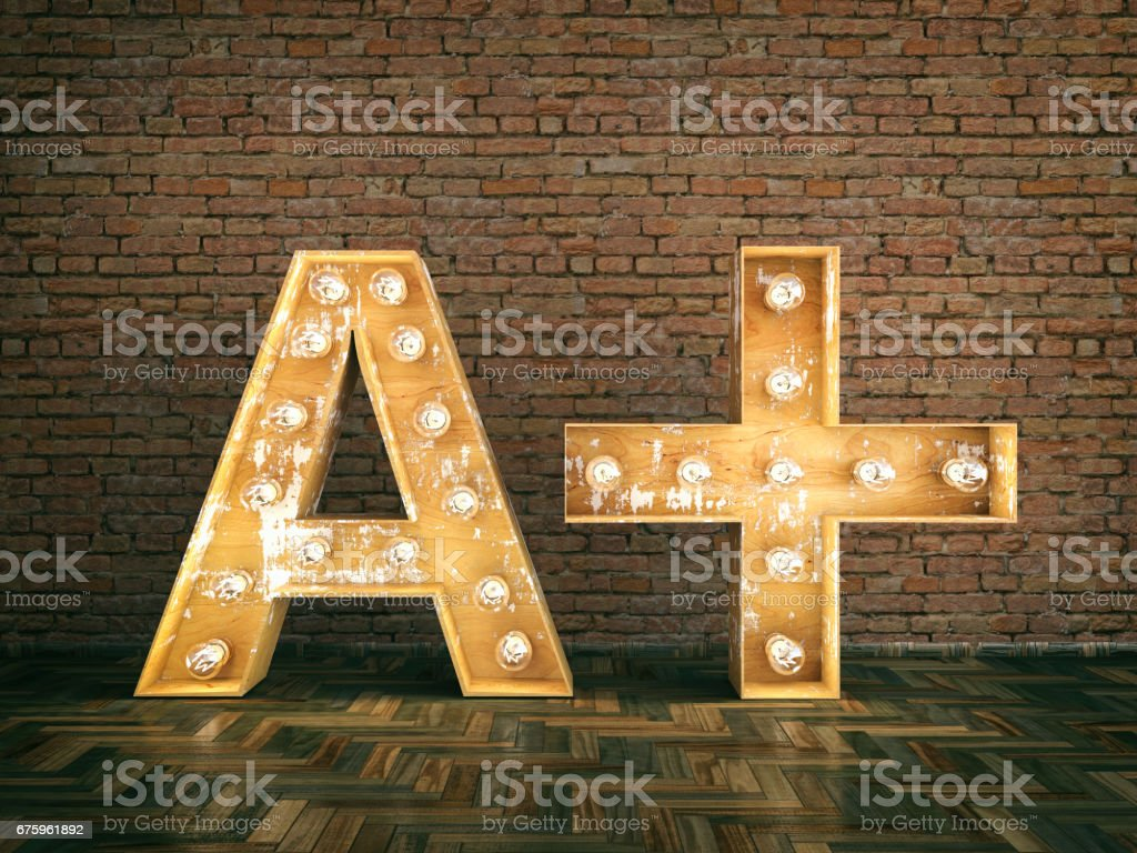 A Plus Sign stock photo