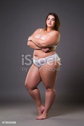 photo Fat girl