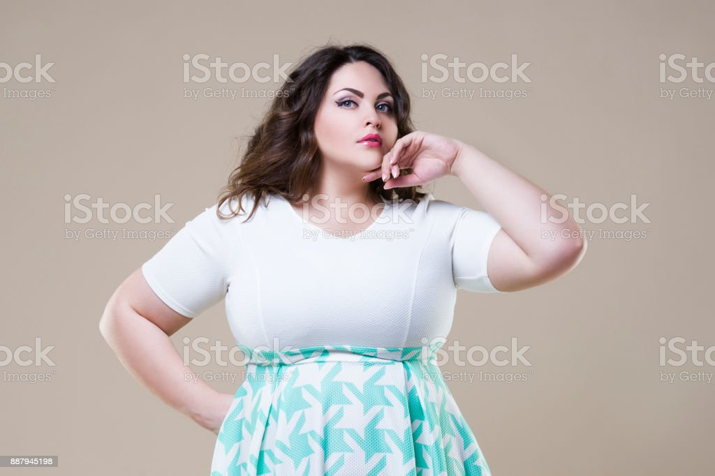 Große dicke Frau