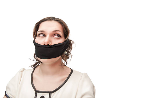Best Scarf Gagged Stock Photos, Pictures & Royalty-Free