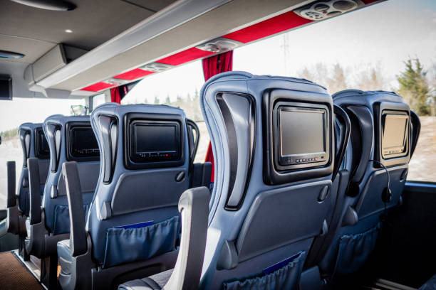 weiche busreisen - tour bus stock-fotos und bilder