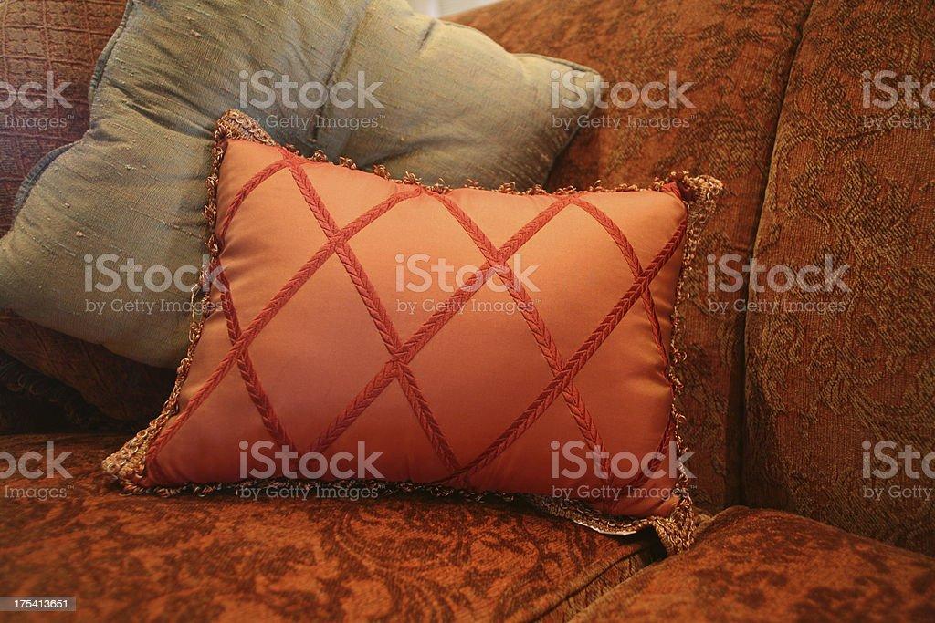 Plush Pillows royalty-free stock photo
