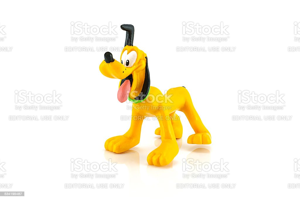 Pluto as a Puppy Disney Mickey and Friends Character Figure
