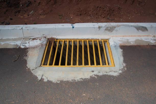 Pluvial drainage grid – Foto