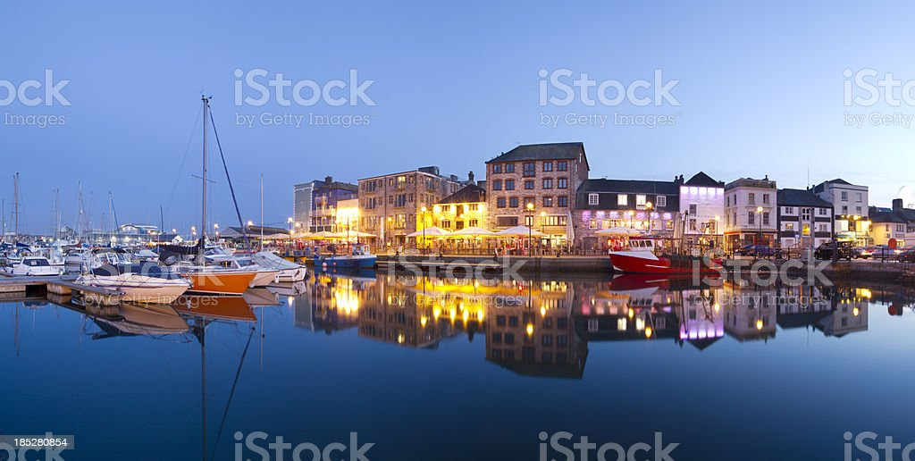 Plymouth Barbican stock photo