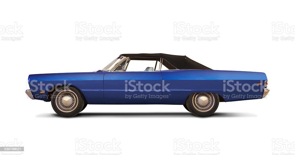 Plymouth fury III 1969. stock photo