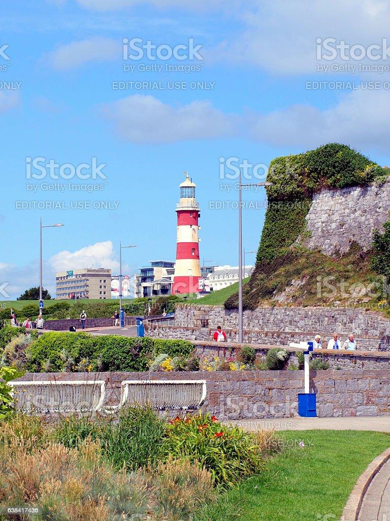 Plymouth Hoe, Devon. stock photo