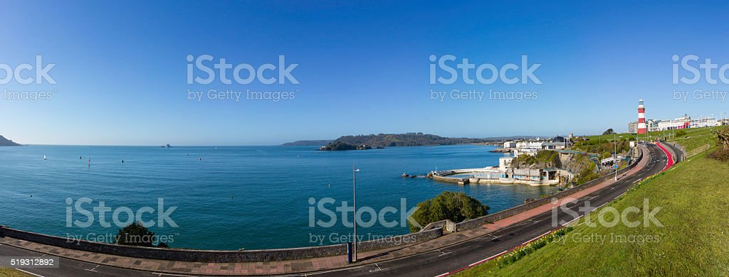 Plymouth Seafront stock photo