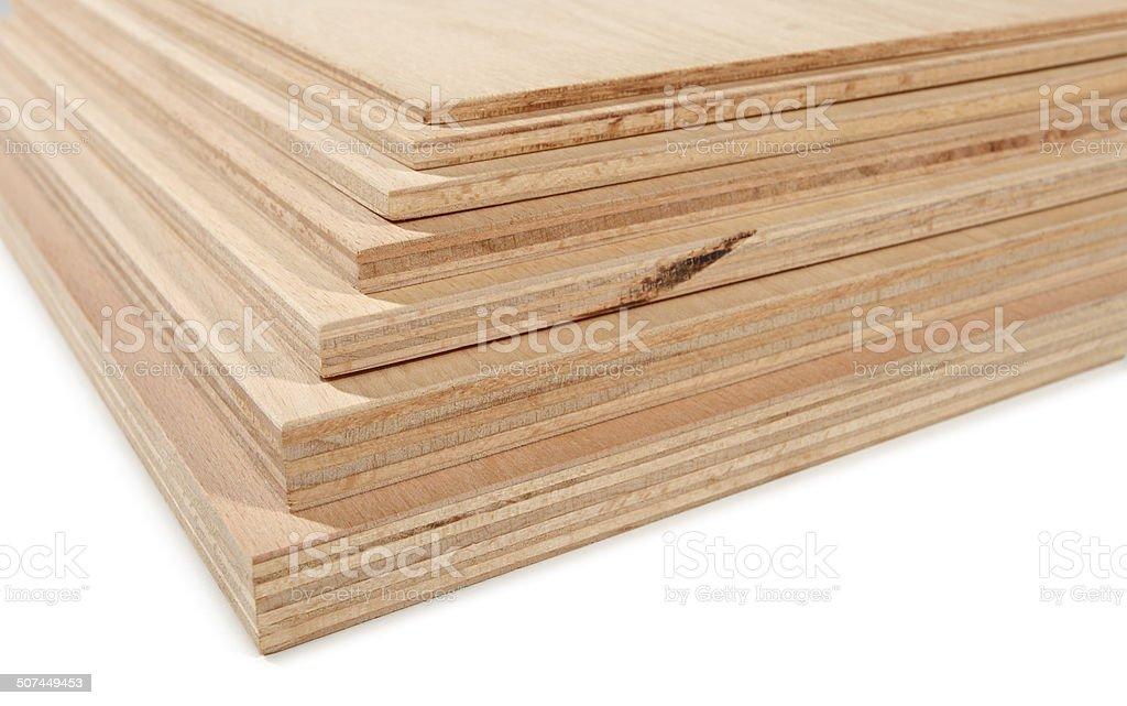 Plywood 4 stock photo