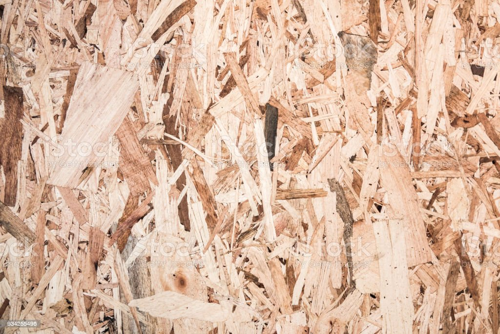 Plywood abstract surface pattern background. This is section of a particle board plywood stock photo