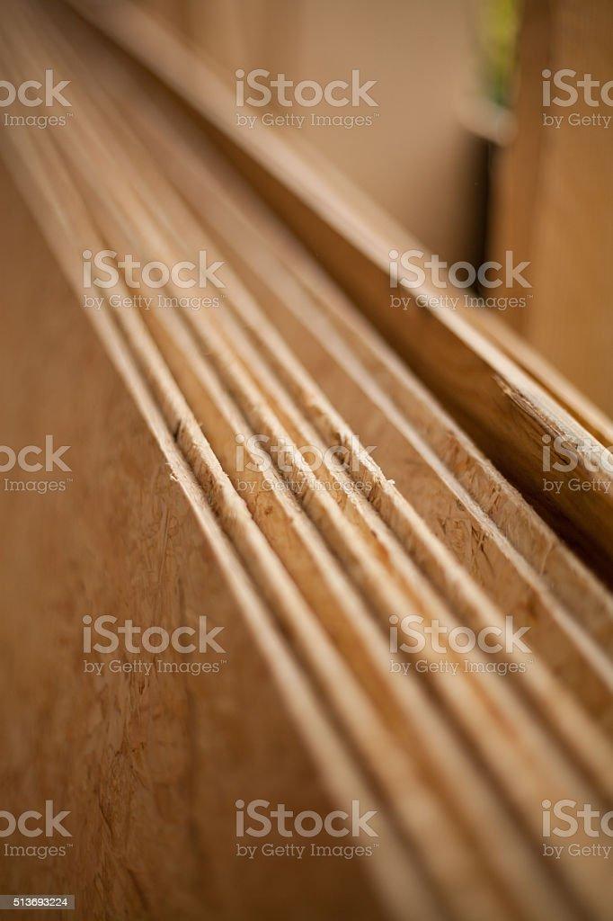 plywood closeup stock photo