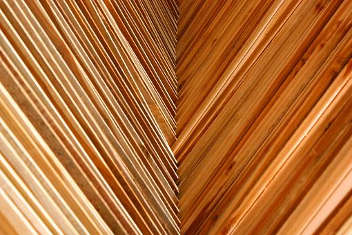 Multiplex Ordelijke Stapel Stockfoto en meer beelden van Abstract