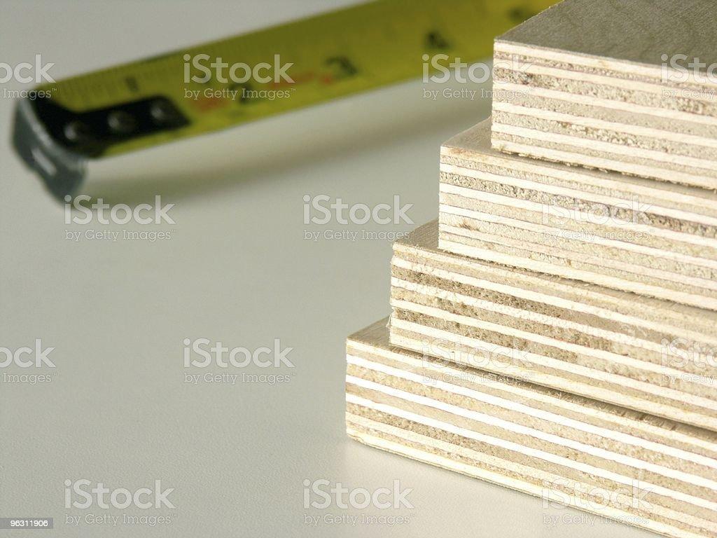Plywood Stack stock photo