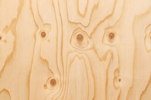 Plywood surface background - wooden texture with pine plywood.