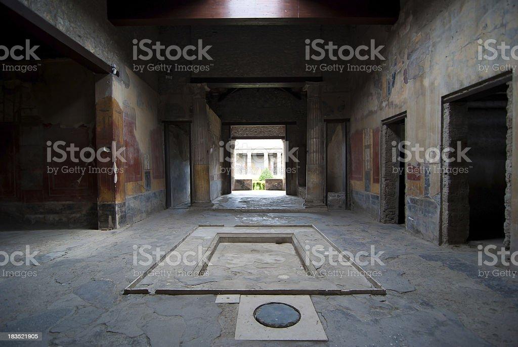 Pmpeii Domus stock photo