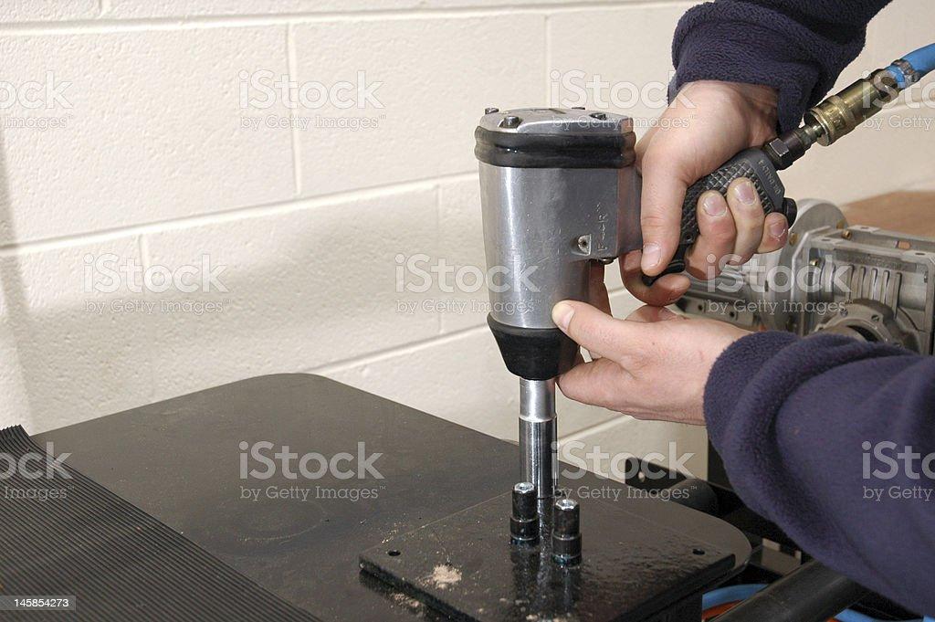Pneumatic Tool stock photo