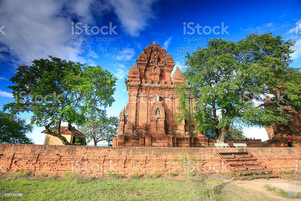 Po Garai Cham temple stock photo