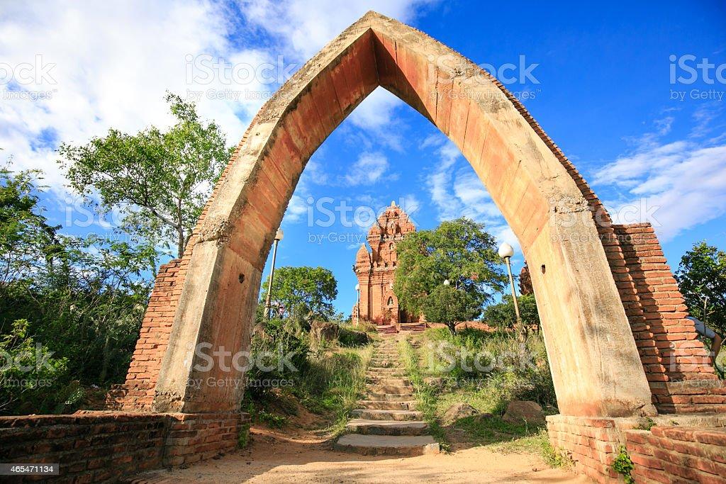 Po Klong Garai Cham towers stock photo
