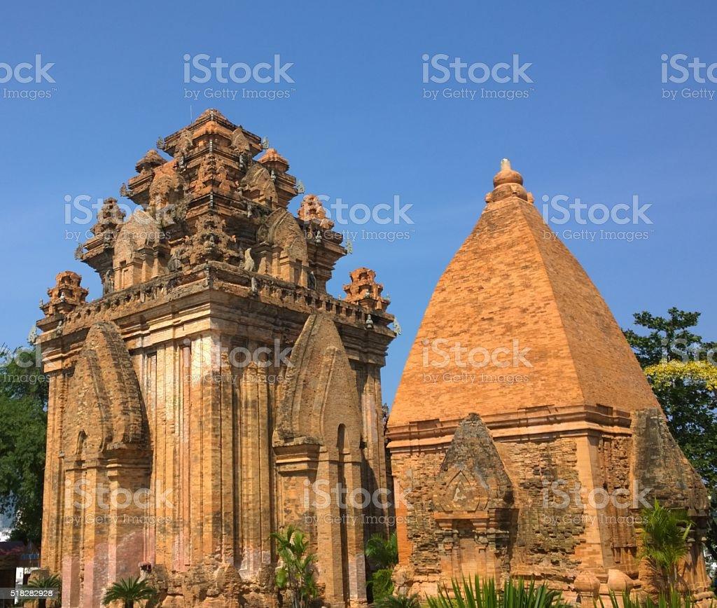 Po Nagar in Nha Trang Vietnam stock photo