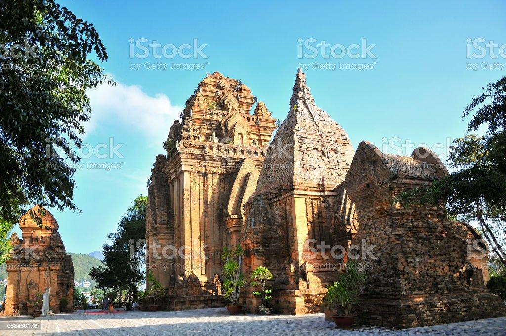 Po Nagar temple in Nha Trang, Vietnam stock photo