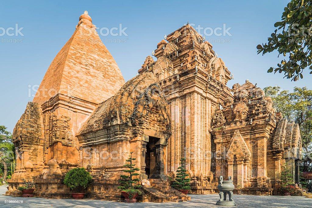 Po Nagar Temple, Nha Trang, Vietnam stock photo