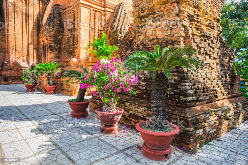 Po Ngar Cham Towers in Nha Trang, Vietnam stock photo