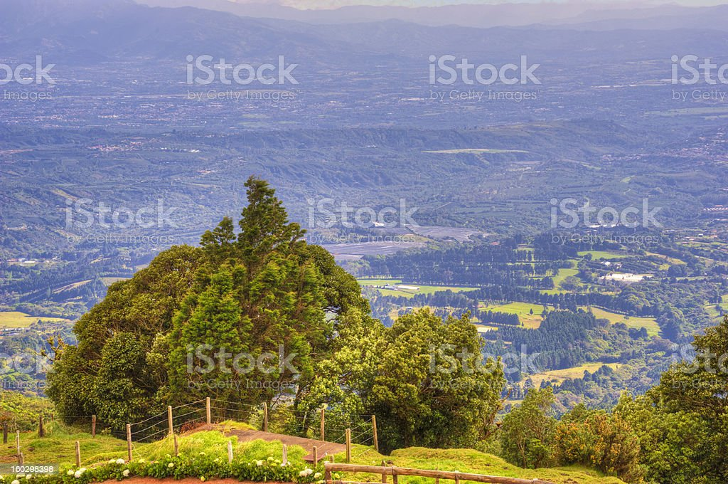 Poas Costa Rica stock photo