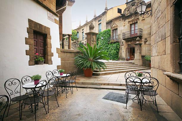 Poble Espanyol stock photo