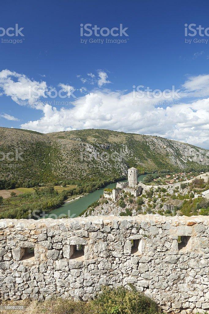 Pocitelj, Bosnia and Hercegovina stock photo