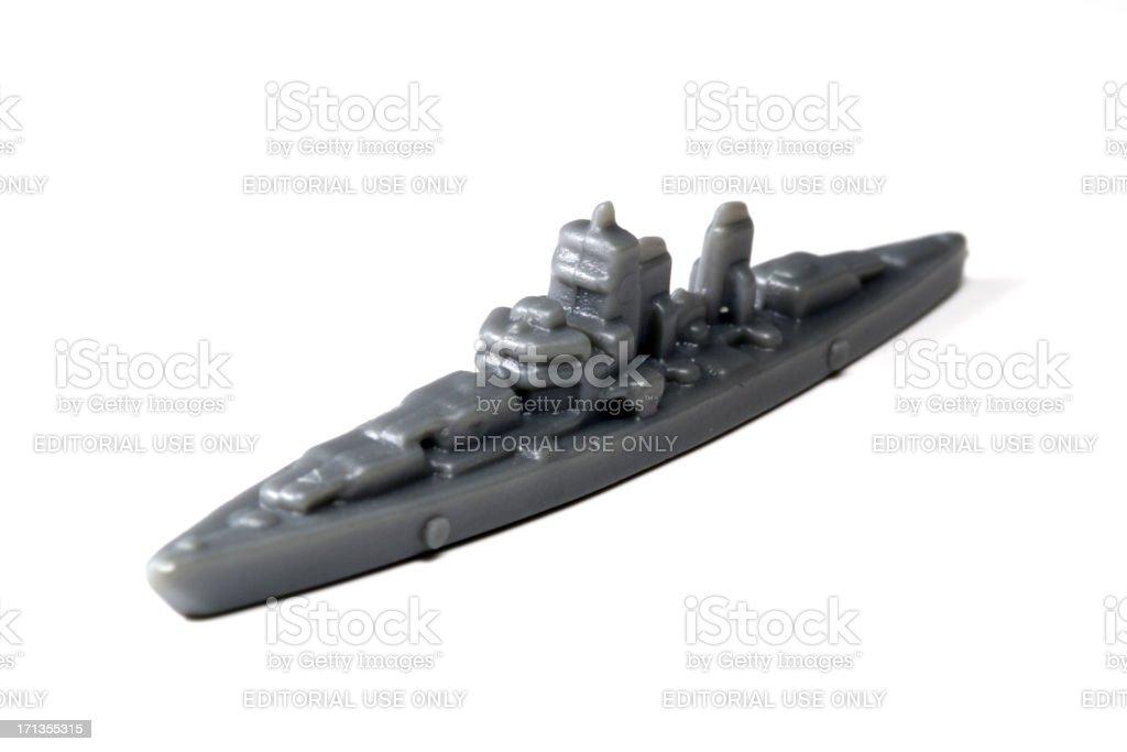 Pocket Battleship stock photo