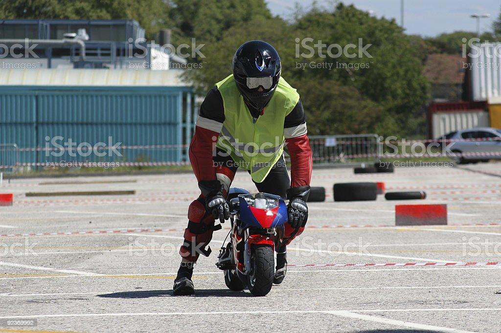 Pocket Bike Race royalty-free stock photo