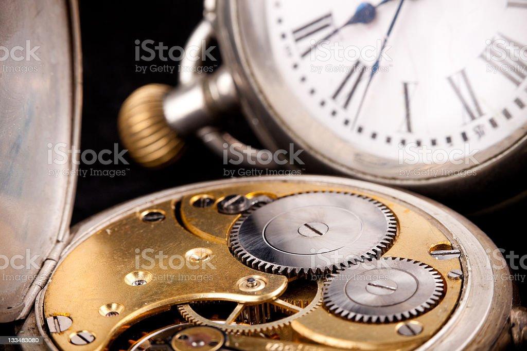 Pocket clock royalty-free stock photo