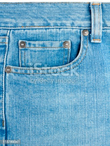 istock Pocket on jeans 115789341