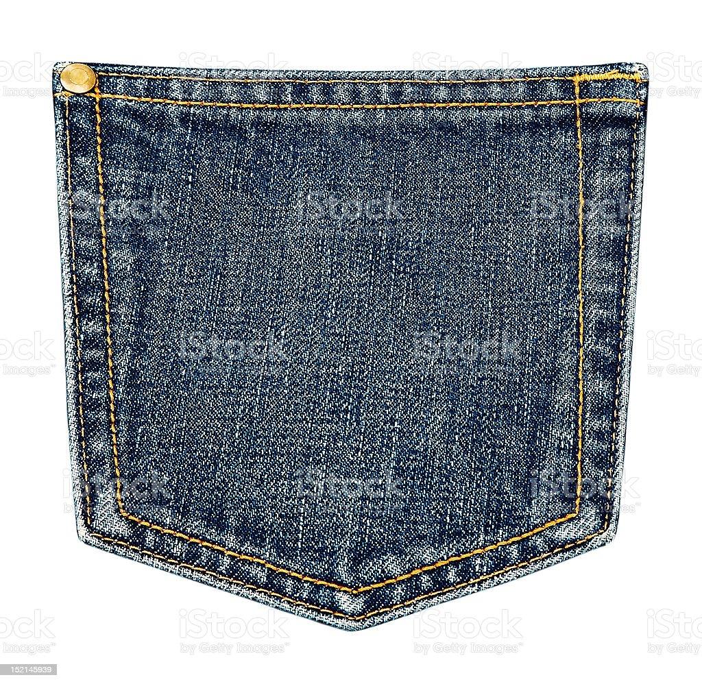 pocket. stock photo