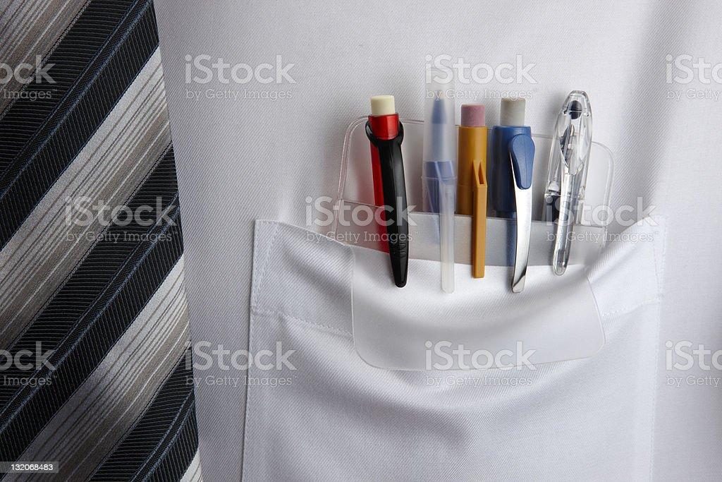 Pocket Protector stock photo