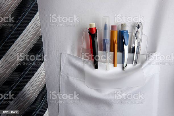 Pocket Protector Stock Photo - Download Image Now