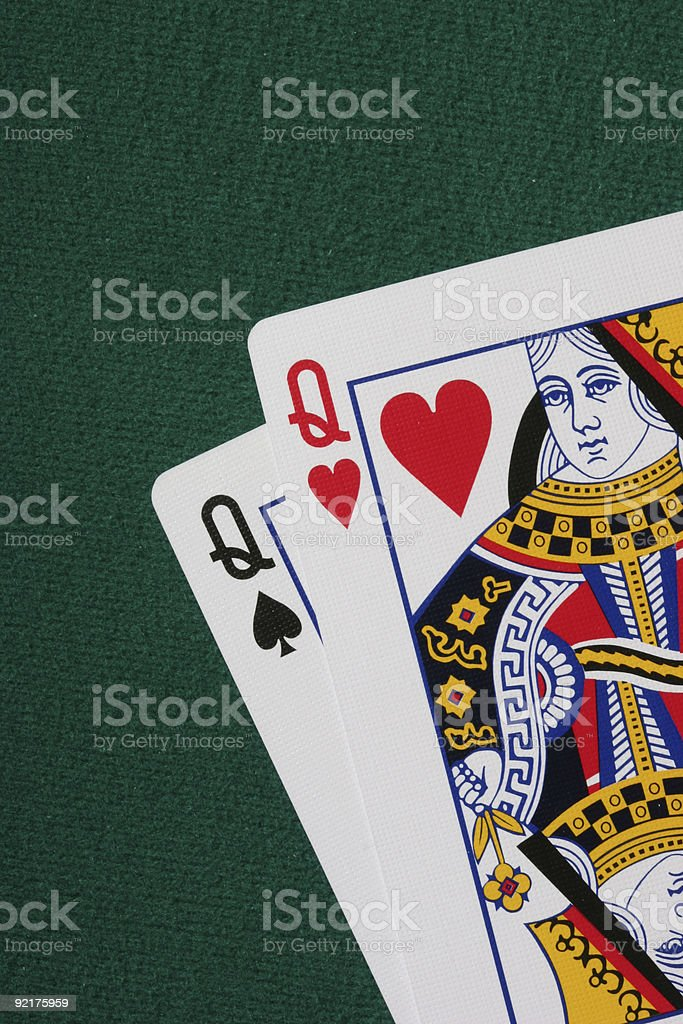 Pocket Queens royalty-free stock photo